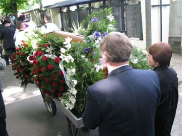 Irena was buried in a public funeral. Many child survivors were present.