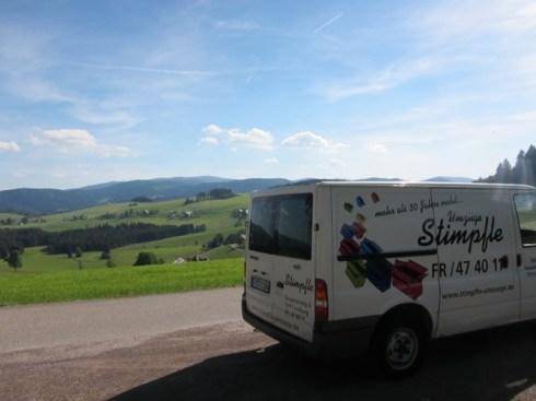 Transport in den Schwarzwald