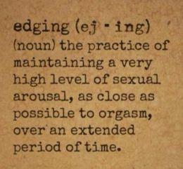edging