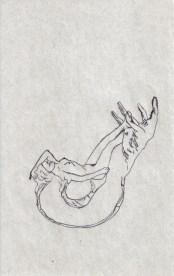 tumbada y mano