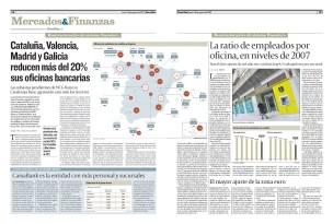 Oficinas de entidades de crédito en España