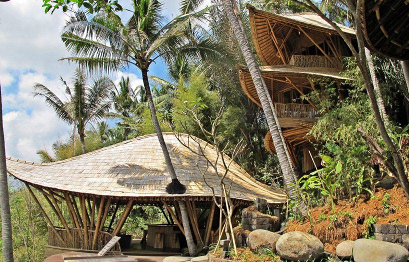 Green Village treehouse