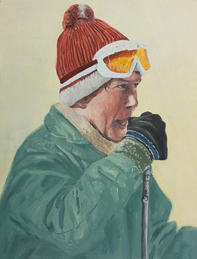 drawing-2011-oil-on-paper-portrait-ski-untitled