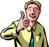 thumbs up guy - thumbs up guy