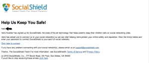 socialshield email to child - almostsavvy.com - socialshield email to child