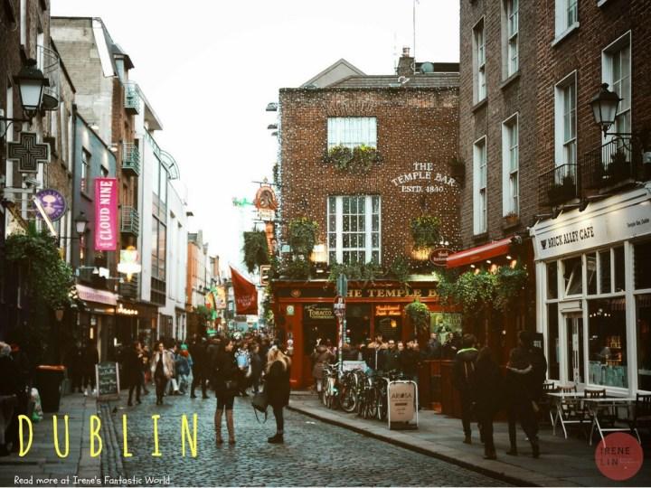 愛爾蘭都柏林自由行攻略| 都柏林 交通/住宿/行程/景點/美食出走日記