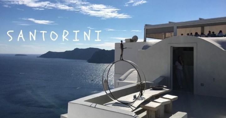 聖托里尼火山島一日遊 |希臘聖托里尼 來去藍白夢幻天堂跳島