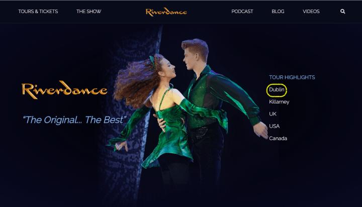 愛爾蘭踢踏舞| 大河之舞 線上購票選位教學