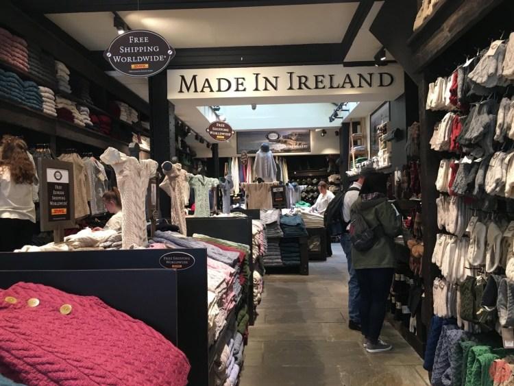 愛爾蘭必買 Aran Sweater Market