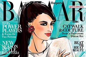 Press/Published: Harper's Bazaar Arabia