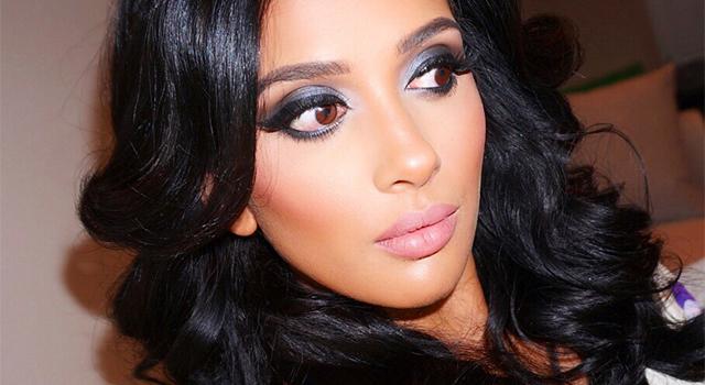 50 Shades of Grey Valentine's Day Makeup w/ Farah Dhukai