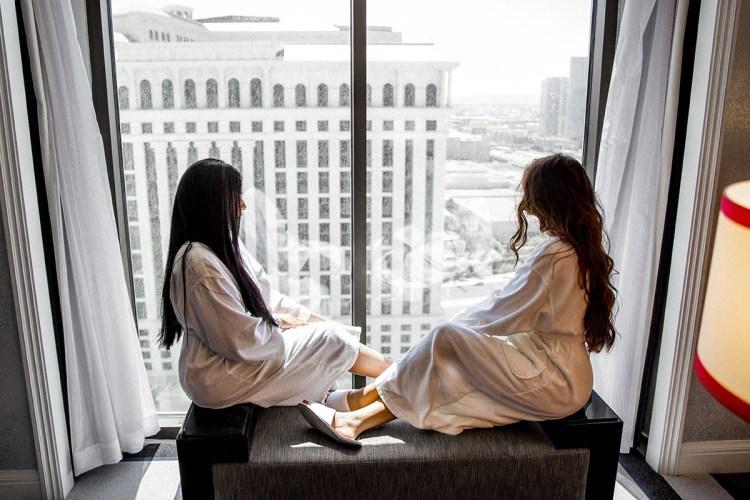 A Little R&R @ Caesar's Palace | Las Vegas