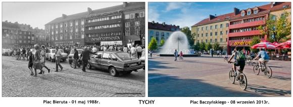 TYCHY - Plac Baczyńskiego 1988-2013