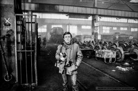 Ireneusz Kazmierczak - ZNTK w Olesnicy. Luty 1980r. Foto Ireneusz Kazmierczak.