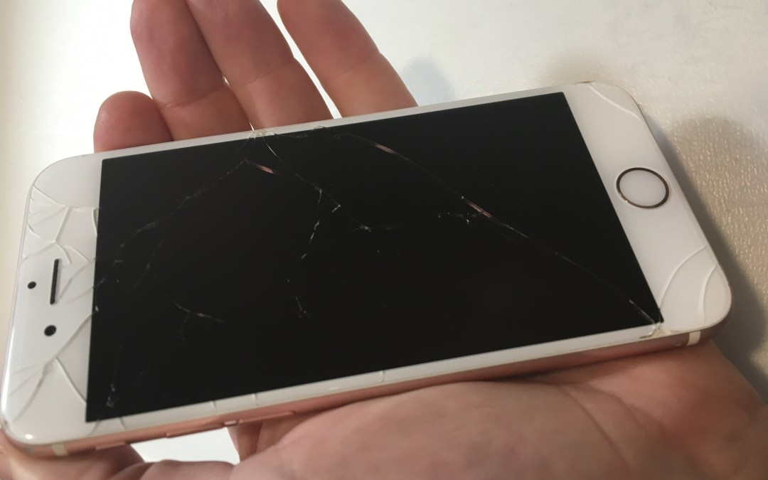 Cracked iPhone Screen in Ginza Needs Some Help