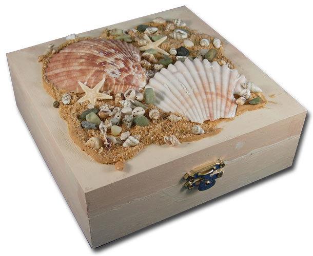 Seashell Treasure Box