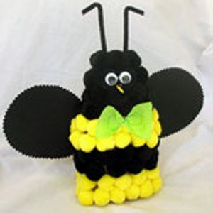 Fuzzy Bumble Bee Favecrafts Com