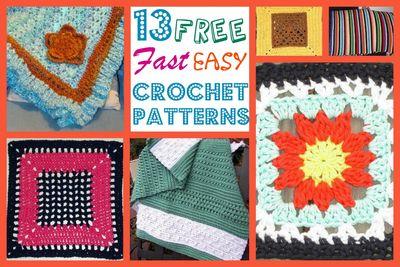 contemporary plaid crochet afghan