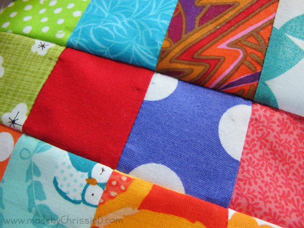 Scrappy Nine Patch Quilt Block