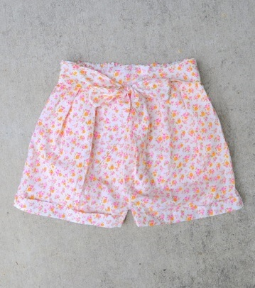DIY Pleated Shorts