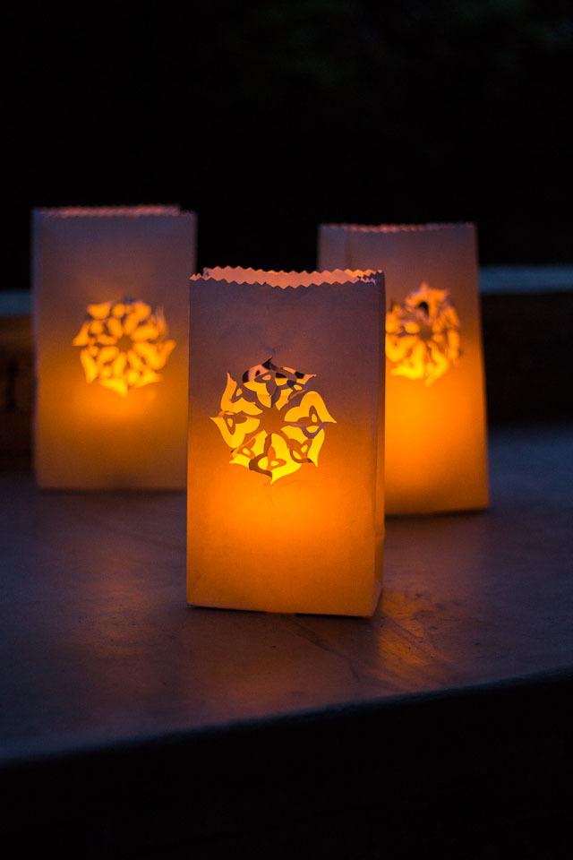 Luminary DIY Backyard Ideas