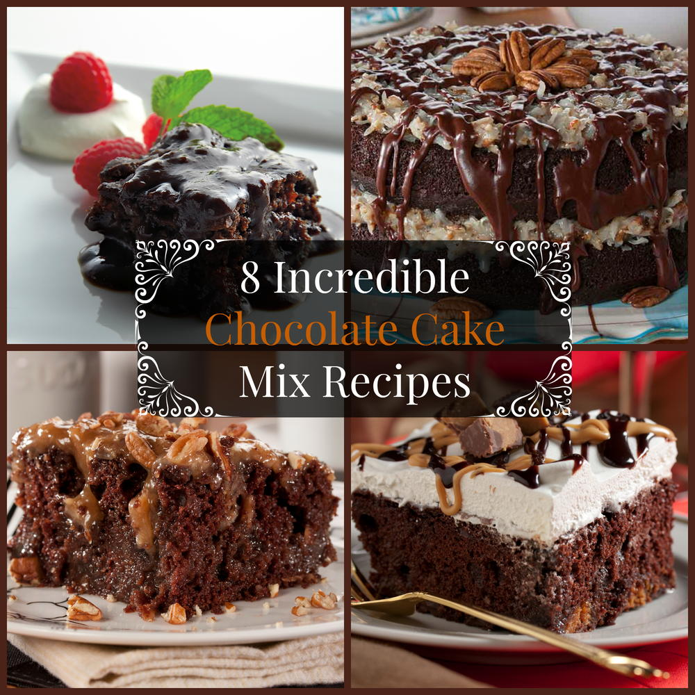 8 Incredible Chocolate Cake Mix Recipes Mrfood Com