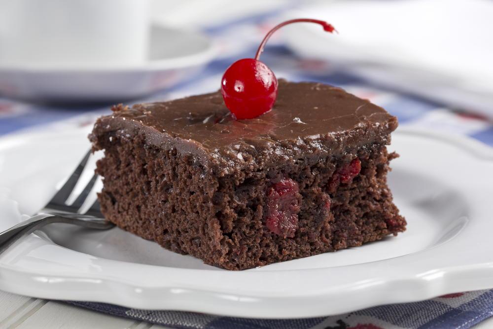 Cherry Fudge Cake Mrfood Com