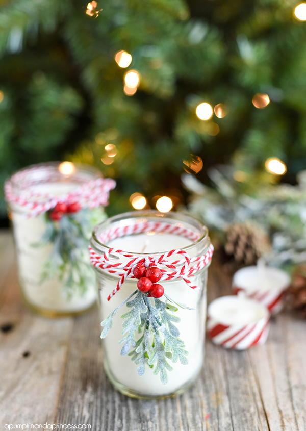 Inexpensive Christmas Ideas Table Centerpiece