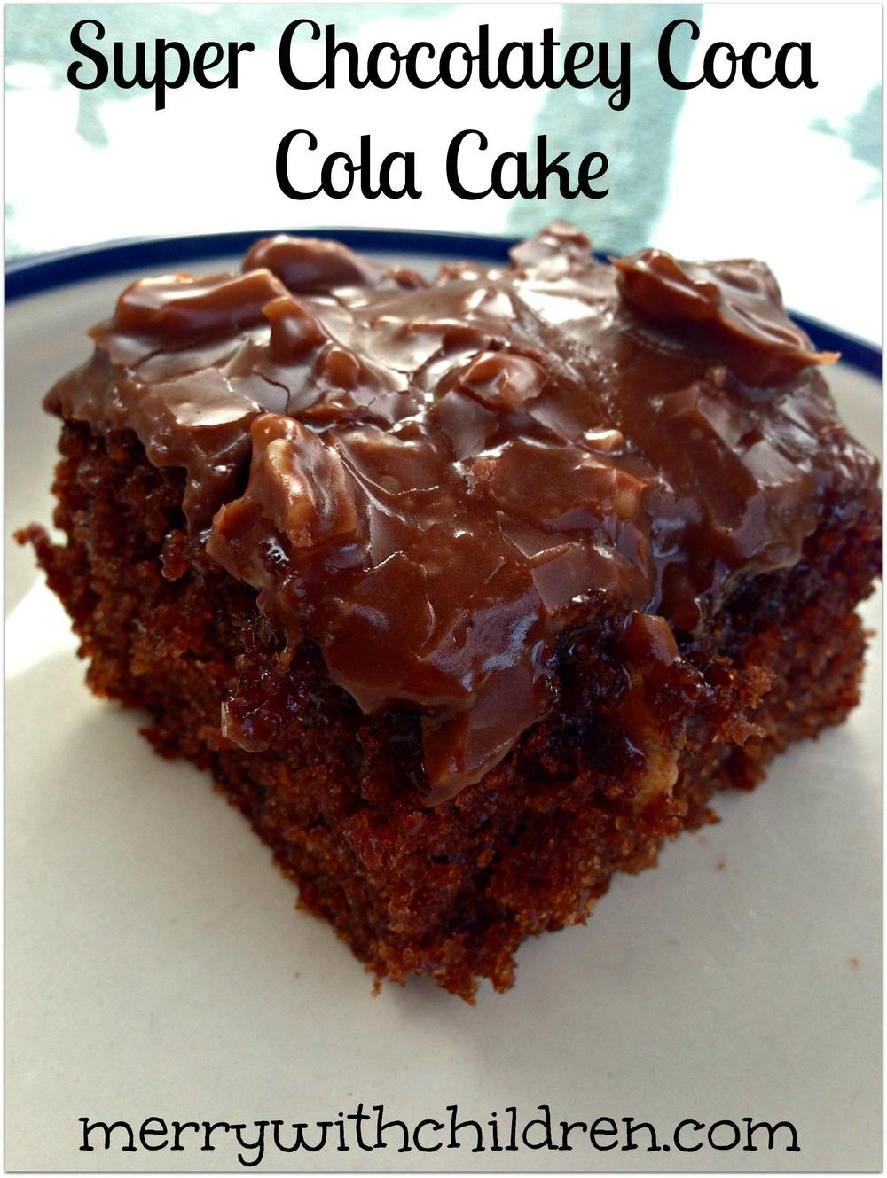 Super Chocolatey Coca Cola Cake Favesouthernrecipes Com