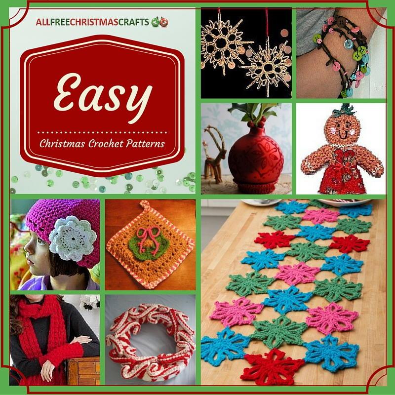 23 Easy Christmas Crochet Patterns