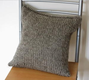 free cat cushion cover to knit # 20