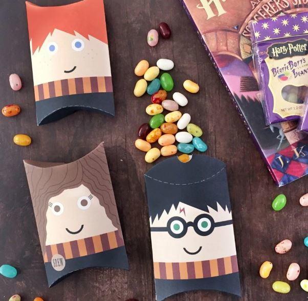 Harry Potter Printable Pillow Boxes