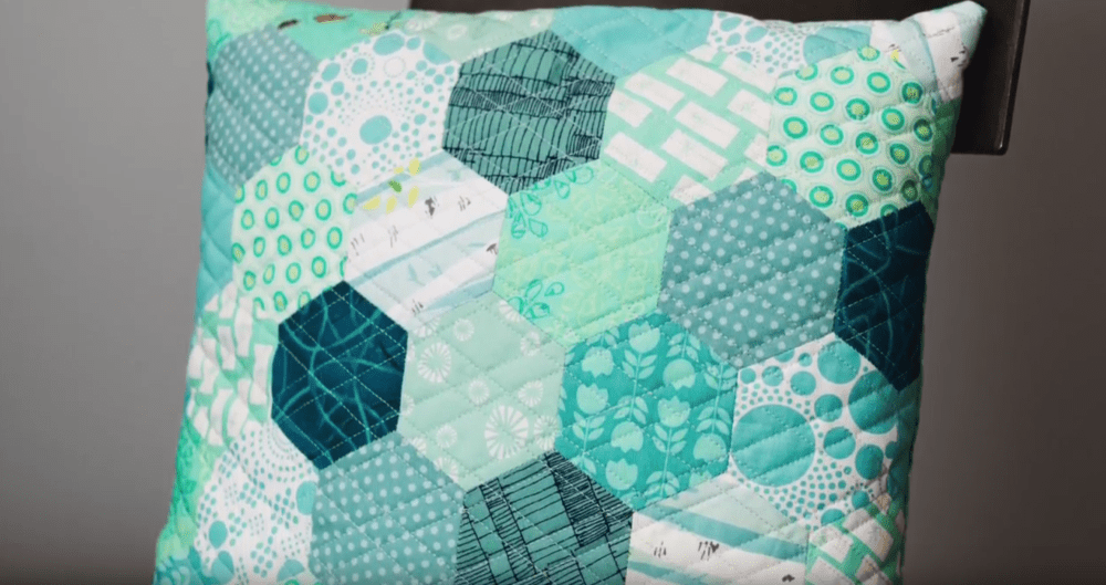 Easy English Paper Piecing Hexagons Technique