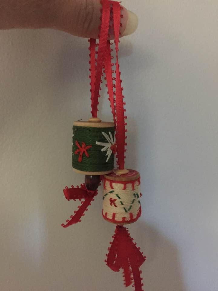Wooden Spools Christmas Ornaments Favecrafts Com