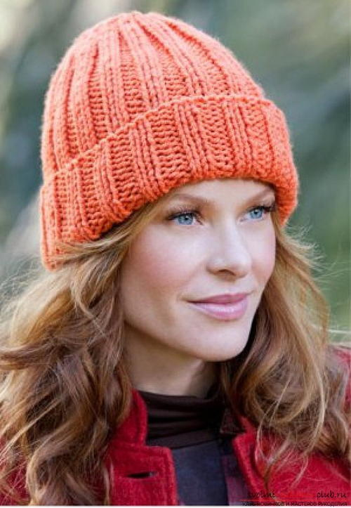Fan Knitting Pattern Hat