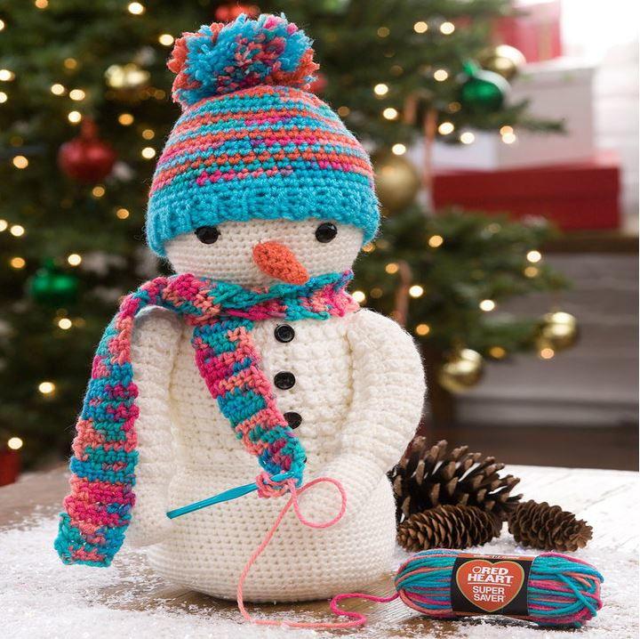 Sweet Crocheting Crochet Snowman