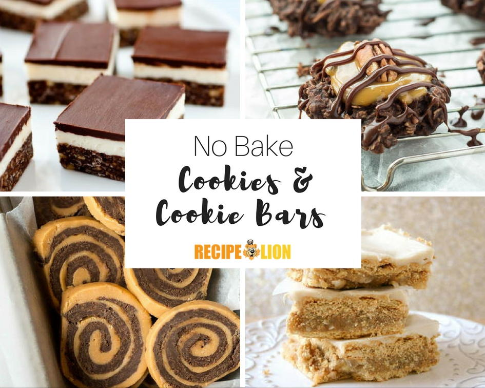 21 Lazy No Bake Cookie Recipes Amp Bar Cookie Recipes