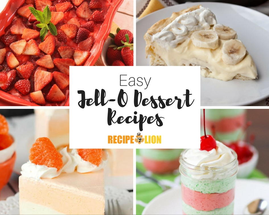 Easy Cake Recipes Jello
