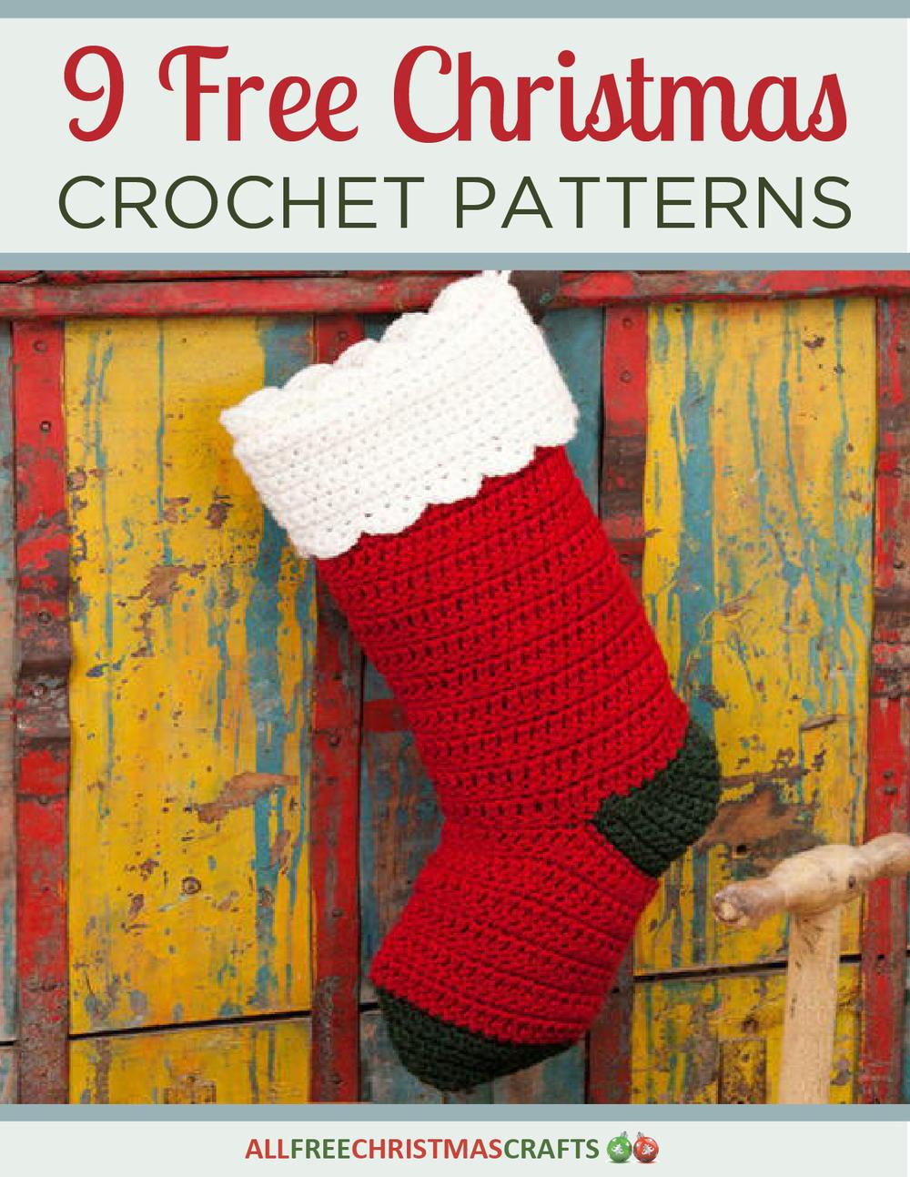 9 Free Christmas Crochet Patterns Free EBook