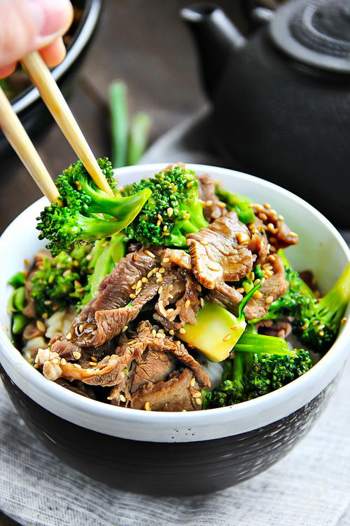 Chinese Restaurant Style Beef and Broccoli Recipe ...