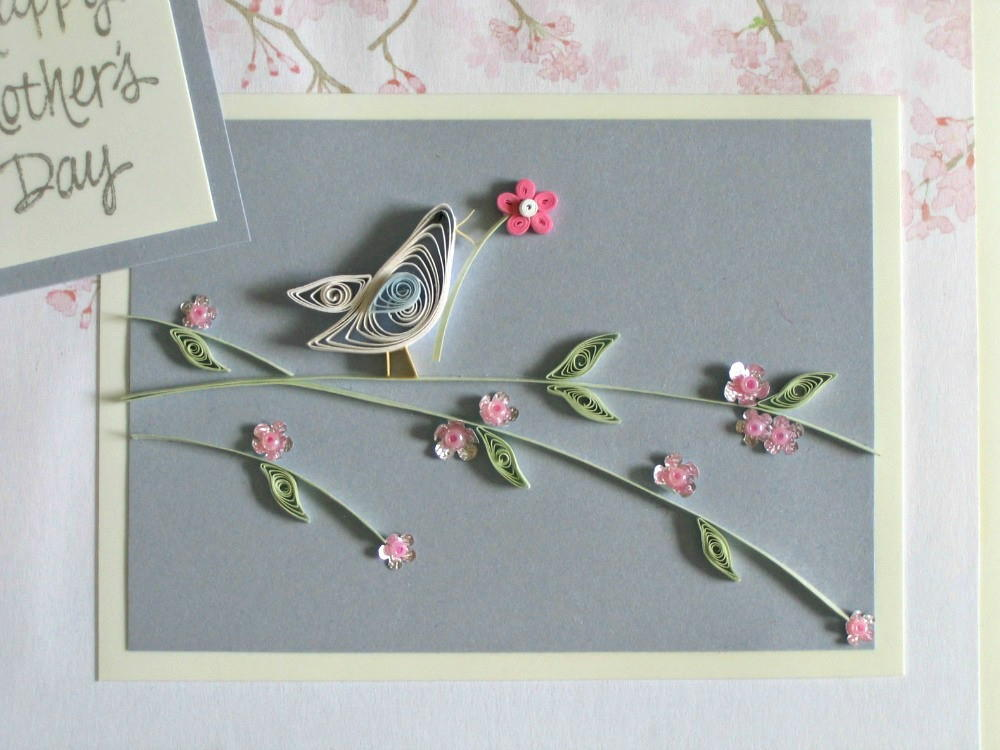 Put A Bird On It Paper Quilling Pattern