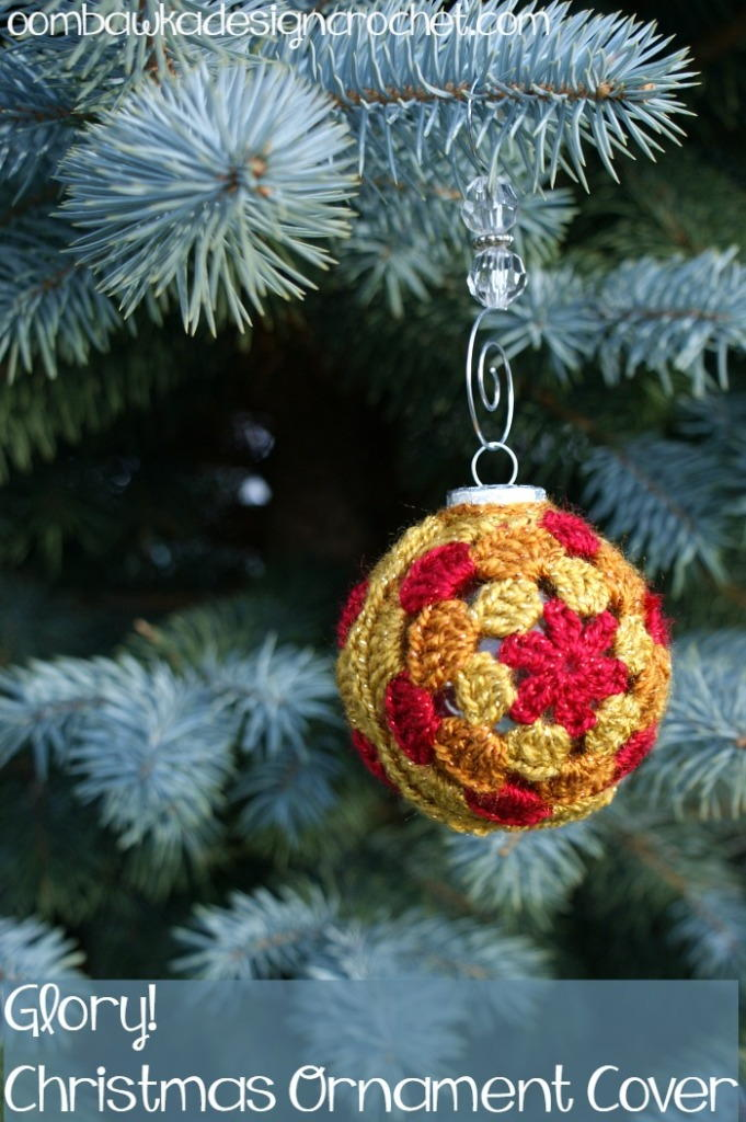 Glory Christmas Ornament Cover
