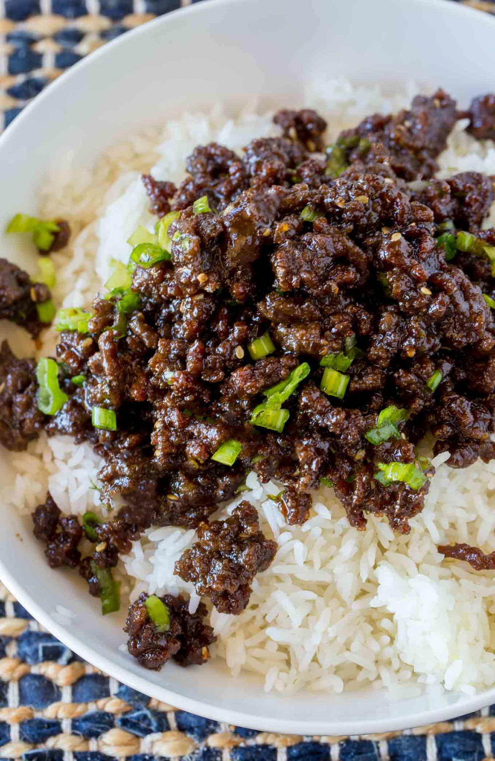 Korean Ground Beef   AllFreeCopycatRecipes.com