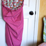 Diy Hanging Laundry Bag Reversible Allfreesewing Com