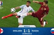 UEFA EURO 2016: Punct obţinut in extremis de Rusia
