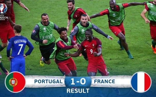 Portugalia, regina Europei fotbalistice
