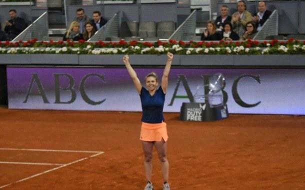 Tenis: Simona Halep, un nou triumf la Madrid