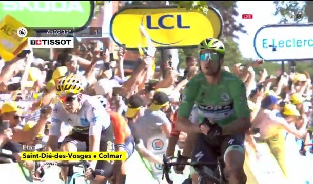 Peter Sagan, spre al şaptelea tricou verde!
