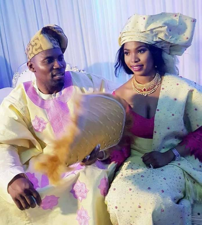 EXCLUSIVE CELEBRITY INTERVIEW: DADDYSAJ AND MARIAMA'S WEDDING