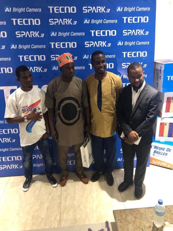 TECNO SIERRA LEONE LAUNCHES LATEST SPARK 3 SMART PHONE